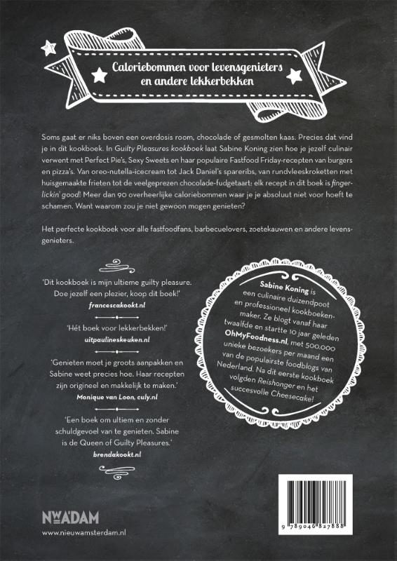 Sabine Koning,Guilty Pleasures kookboek