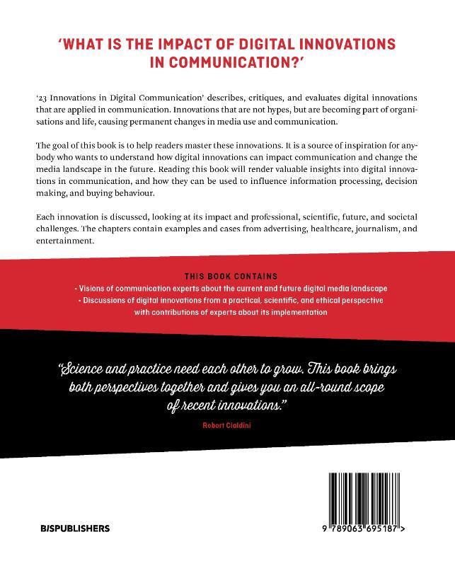 Paul Ketelaar, Jan Aarts, Sanne Demir,23 Innovations in Digital Communication