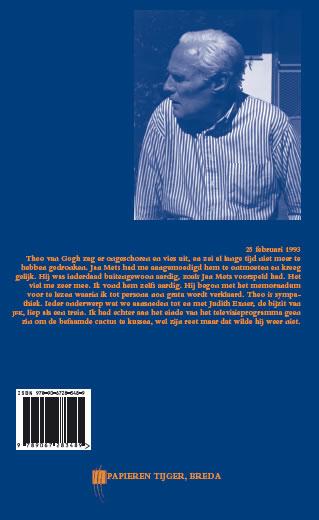 Willem Oltmans,Memoires 1993-A