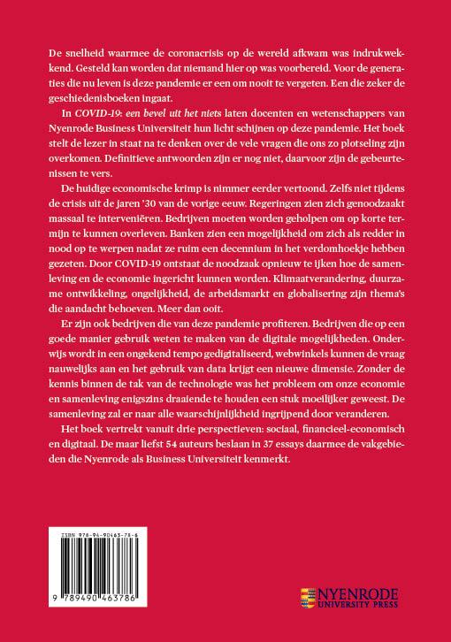 Leen Paape, Cokky Hilhorst, Bart Jansen, Bart van der Linden,Covid-19: een bevel uit het niets