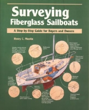 Mustin, Henry C. Surveying Fiberglass Sailboats