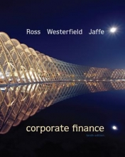 Ross, Stephen Corporate Finance