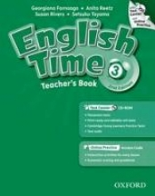 English Time 3. 2nd Edition. Teachers Book with Test Centre and Online Practice Pack