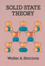 Harrison, Walter A. Solid State Theory