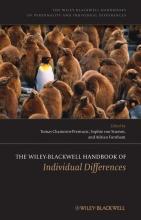 Chamorro-Premuzic, Tomas The Wiley-Blackwell Handbook of Individual Differences
