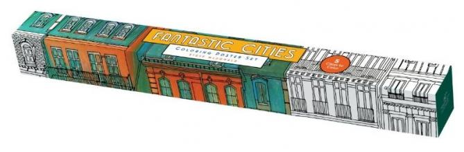 McDonald, Steve Fantastic Cities: Coloring Poster Set