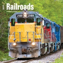 Browntrout Publishers, Inc Railroads 2017 Square