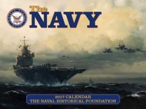 Navy 2017 Calendar