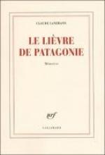 Lanzmann, Claude Le lièvre de Patagonie
