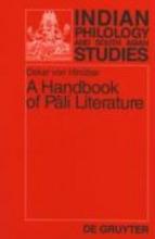 Hinüber, Oskar von A Handbook of Pali Literature
