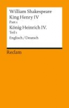 Shakespeare, William King Henry IV, Part 1 Heinrich IV., Teil 1