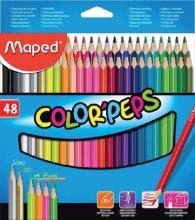 , Kleurpotloden Maped doos 48stuks assorti