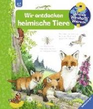 Mennen, Patricia,   Ebert, Anne Wir entdecken heimische Tiere