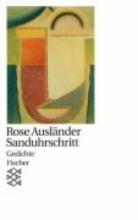 Ausländer, Rose Sanduhrschritt