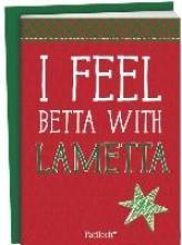 I feel betta with lametta