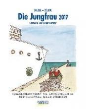 Die Jungfrau 2017. Sternzeichen-Cartoonkalender