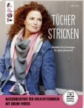 Grau, Julia Tücher stricken (kreativ.startup.)