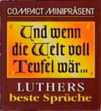 Geiss, Heide Marie Karin Compact Miniprsent Und wenn die Welt voll Teufel wr