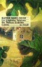 Rilke, Rainer Maria Les Quatrains Valaisans Die Walliser Gedichte