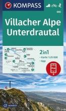 , Villacher Alpe, Unterdrautal 1:25 000