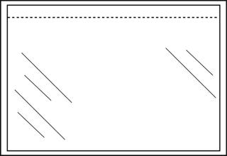 , Paklijstenvelop Quantore zelfklevend blanco 225x165mm 1000st