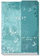 Taschenkalender mit Klappe A6 2017