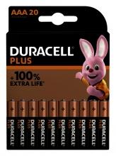 , Batterij Duracell Plus 20xAAA