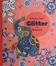 , Kleurboek Interstat volwassenen glitter thema bohemian spirit