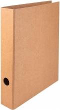 , Ordner Quantore A4 50mm kraft bruin
