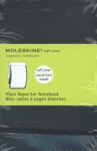 Moleskine Pocket Soft Cover Plain Reporter Notebook