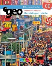 Chris de Jong Wim ten Brinke, De Geo Bevolking en Ruimte 3/4 vmbo-kgt CE Lesboek
