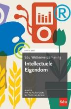, Sdu Wettenverzameling Intellectuele Eigendom. Editie 2021