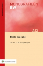 J.L.R.A. Huydecoper , Reële executie