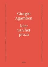 Giorgio Agamben , Idee van het proza
