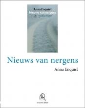 Anna  Enquist Nieuws van nergens (grote letter) - POD editie
