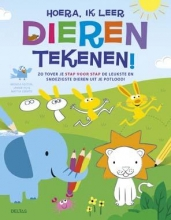 Sexton, Brenda / Ho, Jannie / Cerato, Mattia Hoera, ik leer dieren tekenen!