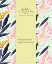 , Budget sheets MAXI - Feeling Plantastic