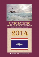 Mandy van Dijk Urker spreukenkalender  2014