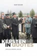 Bart Bolier , Kersten in quotes