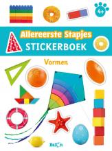 , Stickerboek vormen 4+
