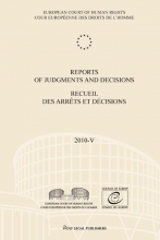 , Reports of judgments and decisions recueil des arrets et decisions 2010-V