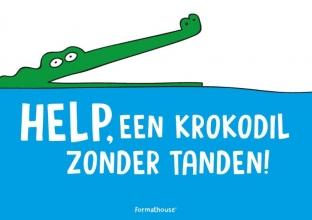 Jeroen Bakker Benjamin Pepijn Bakker, Help, een krokodil zonder tanden!