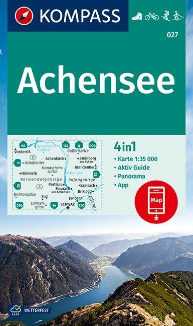 Gmbh, Kompass-Karten,KOMPASS Wanderkarte Achensee 1:35 000