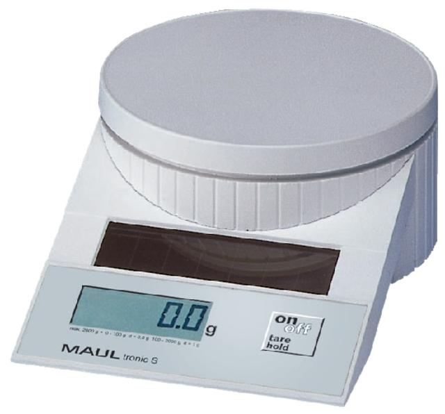 ,Briefweger MAUL Tronic solar tot 2000 gram wit