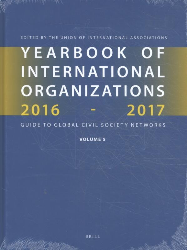 ,Yearbook of International Organizations 2016-2017 Volume 5