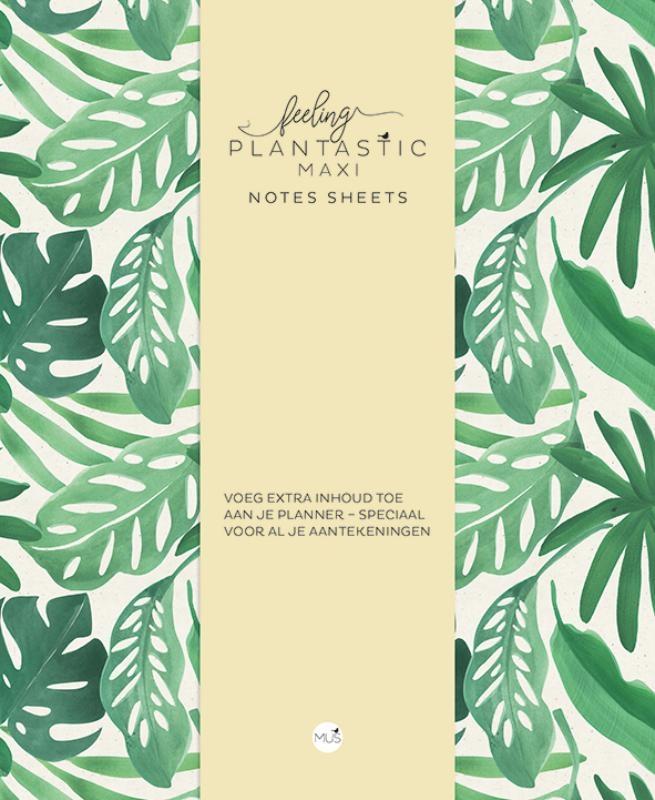 ,Feeling Plantastic maxi Notes Sheets