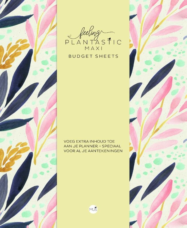 ,Budget sheets MAXI - Feeling Plantastic