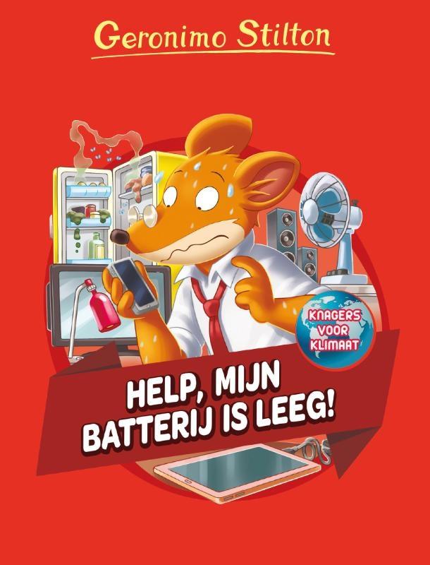 Geronimo Stilton,Help, mijn batterij is leeg!