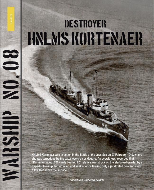 Rinder van Zinderen Bakker,Destroyer HNLMS Kortenaer