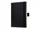 <b>Co230</b>,Notitieboek Conceptum A6 Blanco Zwart Softcover